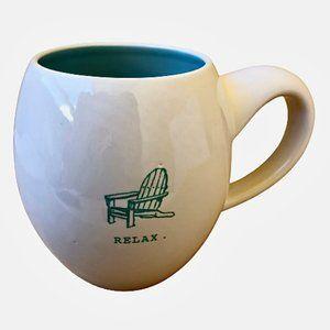 Magenta Coffee Mug RELAX ADIRONDACK CHAIR